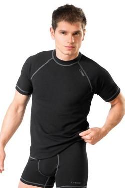 Pánské triko Classic V black