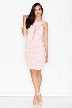 Dámské šaty M372 pink