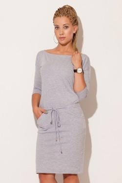 Dámské šaty M203 grey