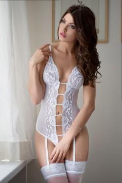 Erotické body Tina white