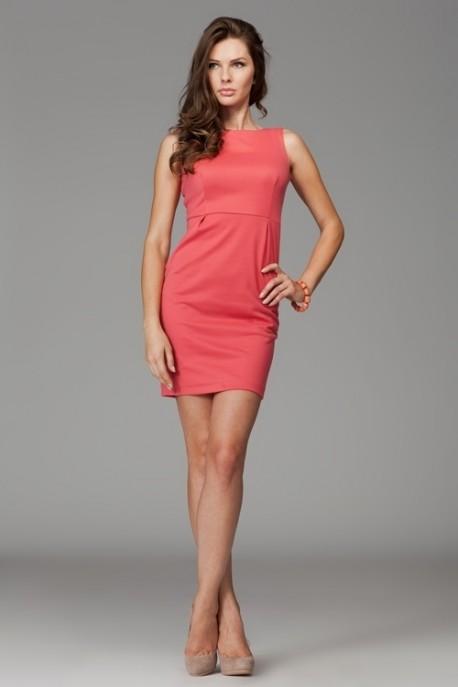 Dámské šaty M079 coral