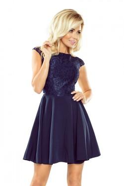 Dámské šaty 157-1 blue