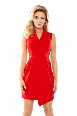 Dámské šaty 153-2 red