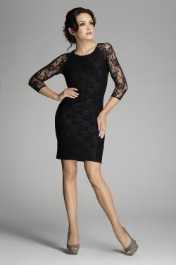 Dámské šaty M076 black