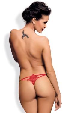 Erotická tanga Luiza thong red
