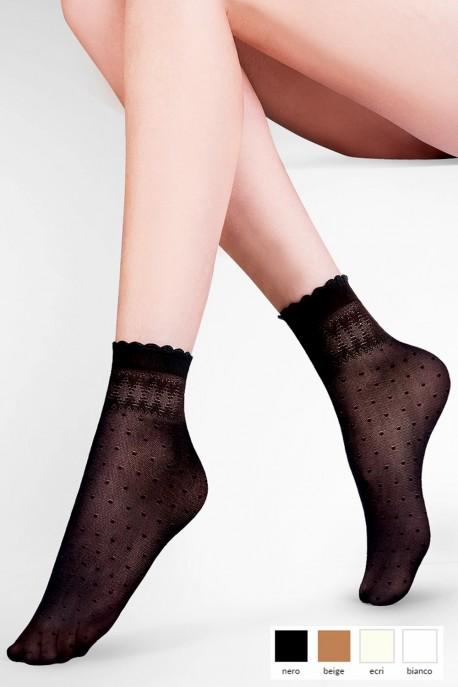 Dámské ponožky 695 Pia beige