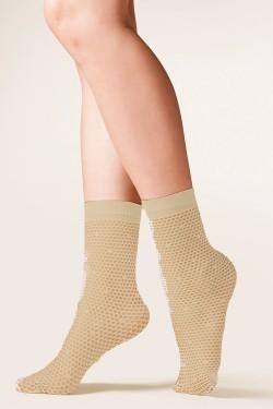 Dámské ponožky 691 Roma beige