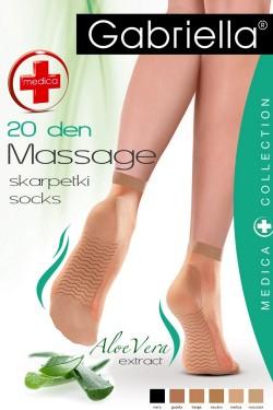 Dámské ponožky 623 Medica 20 nero