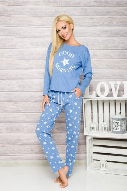 Dámské pyžamo 1190 Nadia blue