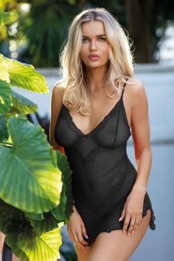 Dámská košilka Milagros black