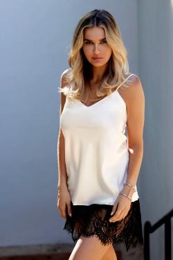 Dámská košilka Chanelle ecru