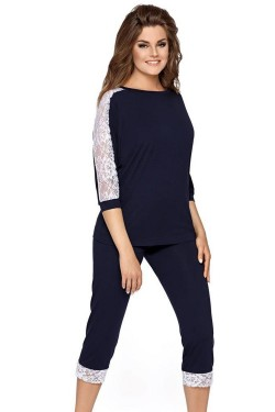 Dámské pyžamo Toscana blue