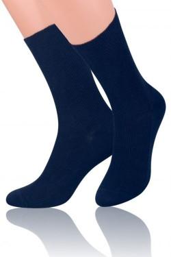 Pánské ponožky 018 dark blue