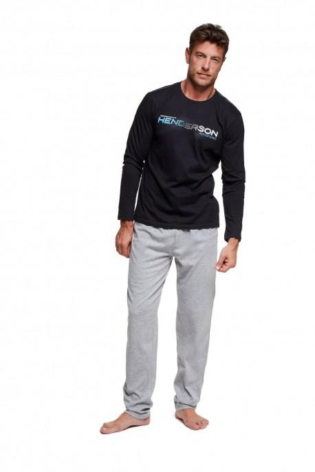 Pánské pyžamo 37300 Worth black