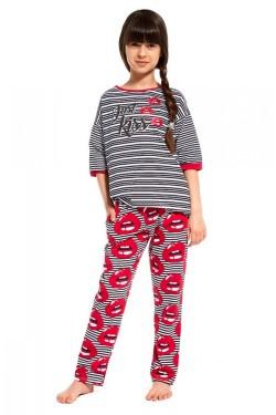 Dívčí pyžamo 090/80 Kiss young