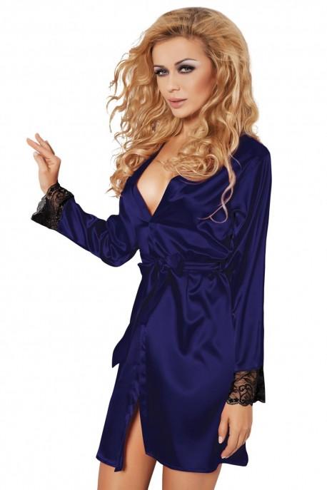 Dámský župan Gina dark blue