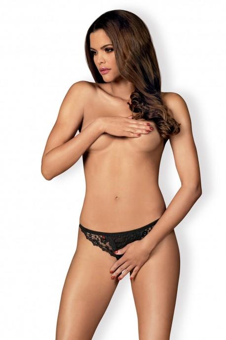 Erotická tanga Letica crotchless thong