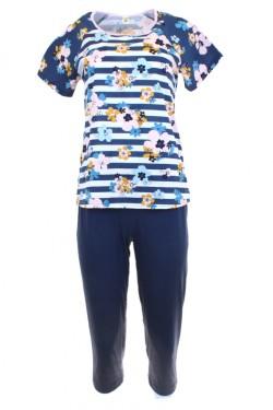 Dámské pyžamo 911 dark blue