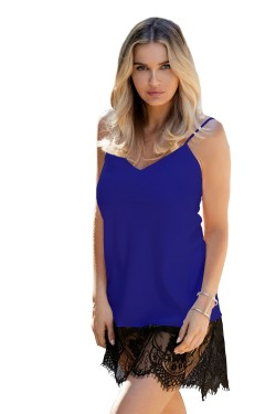 Dámská košilka Chanelle blue