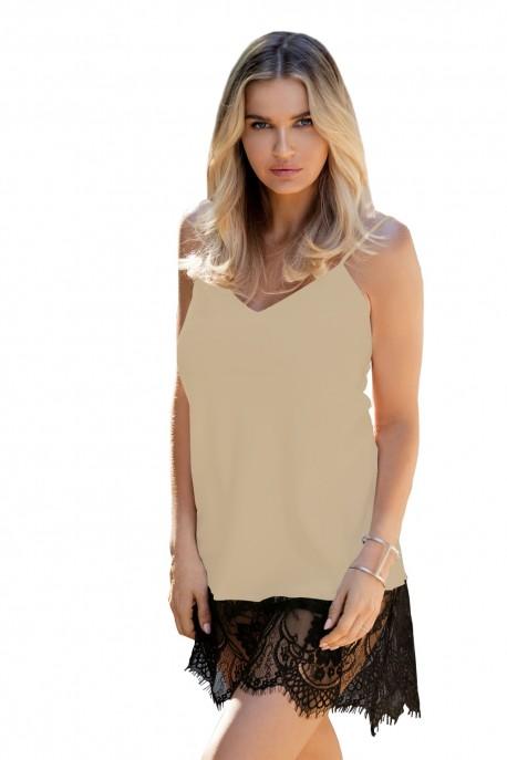 Dámská košilka Chanelle beige