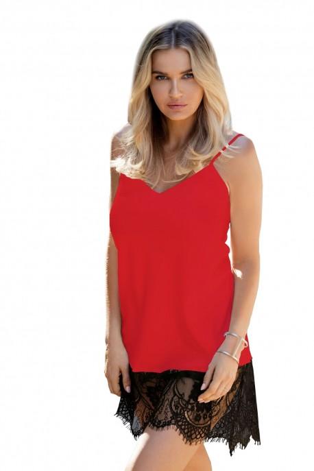 Dámská košilka Chanelle red