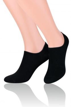 Dámské ponožky Invisible 070 black