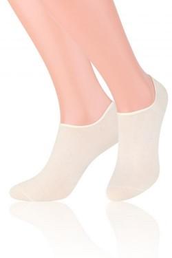 Dámské ponožky Invisible 070 white