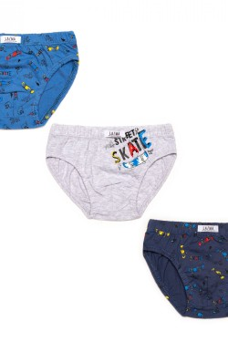 Chlapecké slipy B 213 SD 3 pack