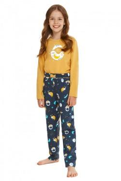 Dívčí pyžamo 2615 Sarah yellow