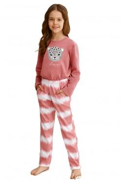 Dívčí pyžamo 2587 Carla pink