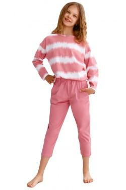 Dívčí pyžamo 2619 Carla pink