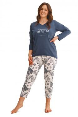 Dámské pyžamo 2611 Omena plus
