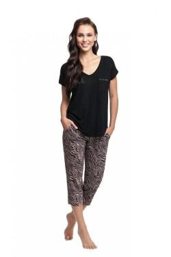 Dámské pyžamo 579 black
