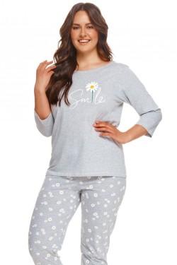 Dámské pyžamo 2601 Hera grey plus